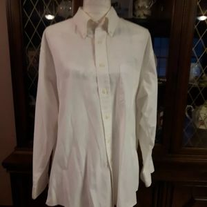 White Moores Dress Shirt Button Up 17 32-33